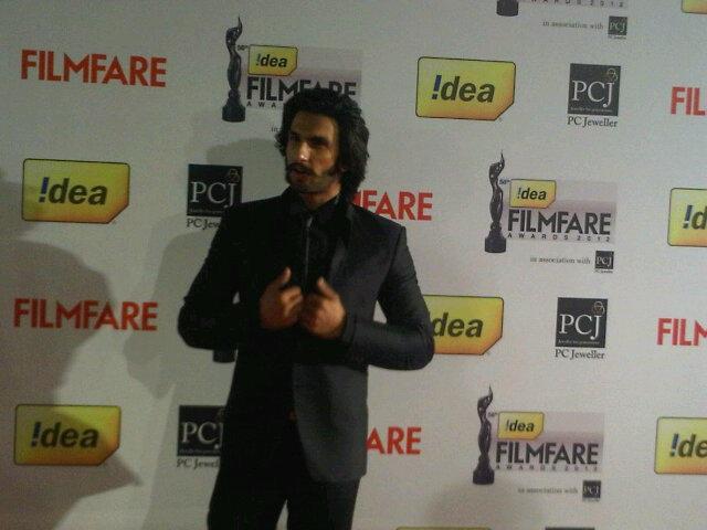 Ranveer Singh Filmfare Awards
