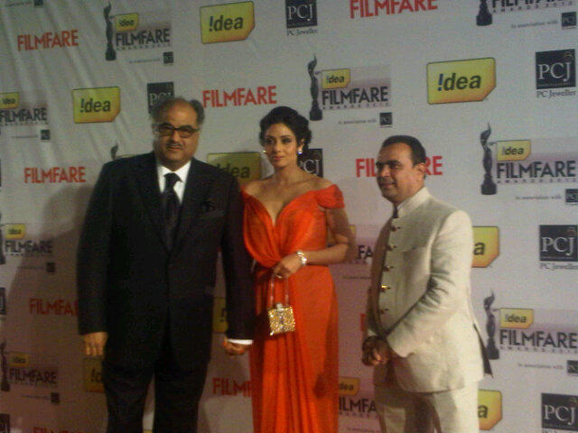 Sridevi Filmfare Awards