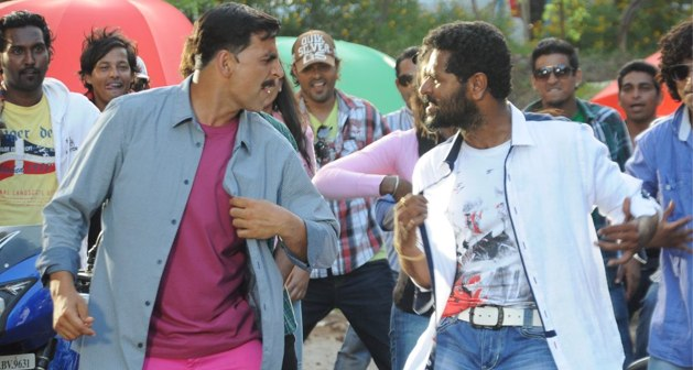Akshay Kumar and Prabhu Deva