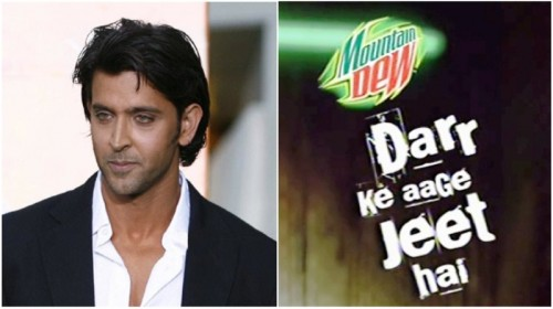 Hrithik Roshan Mountain Dew