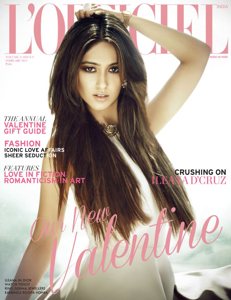 Ileana D'Cruz Magazine Cover: L'Officiel