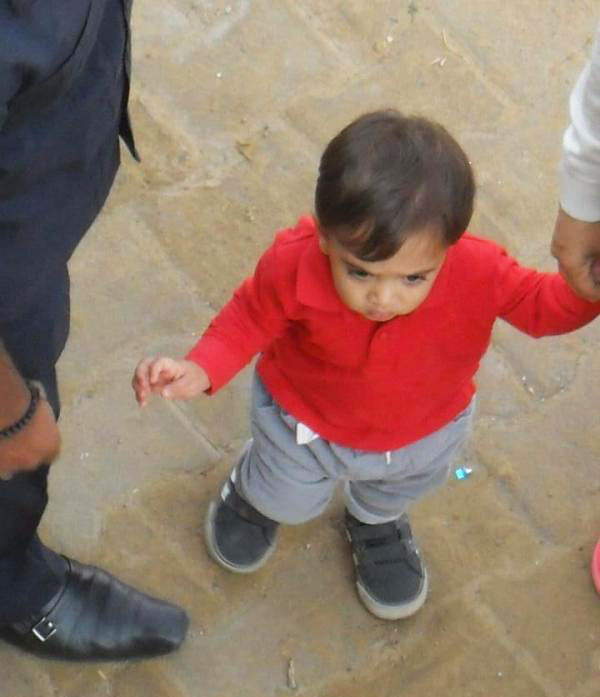 Aamir Khan's son Azad Rao Khan on the sets of Peekay