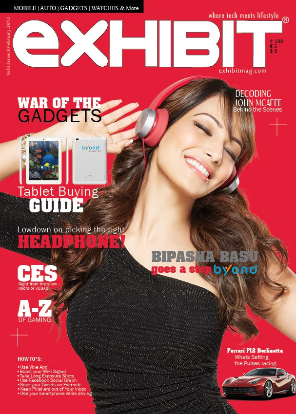 Bipasha Basu Magazine Cover: Exhibit