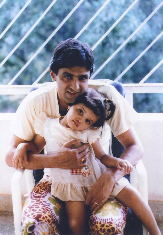 Deepika Padukone with father Prakash Padukone