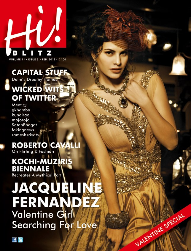 Jacqueline Fernandes Magazine Cover: Hi! BLITZ