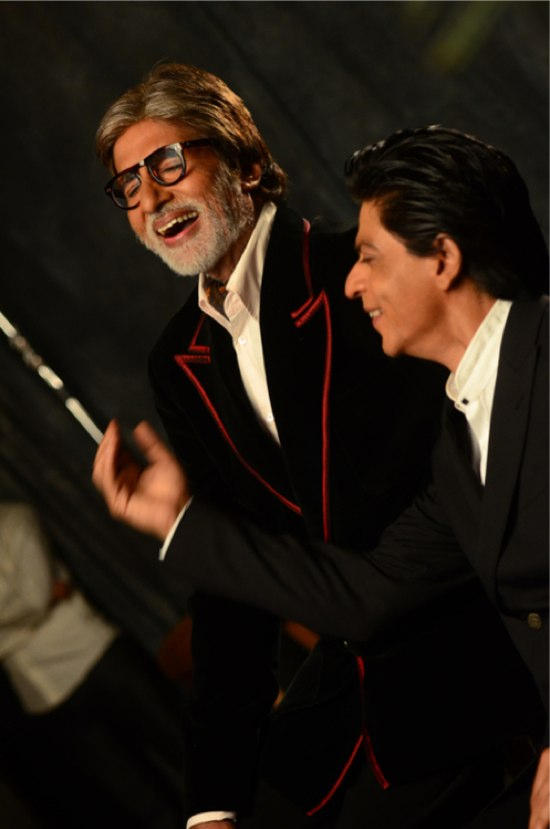 Amitabh Bachchan SRK