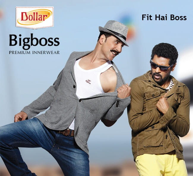Akshay Kumar, Prabhu Deva Ad for Dollar Bigboss