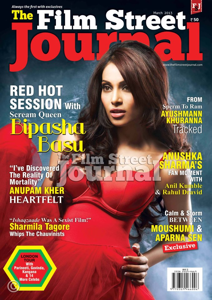 Bipasha Basu Film Street Journal Magazine Cover