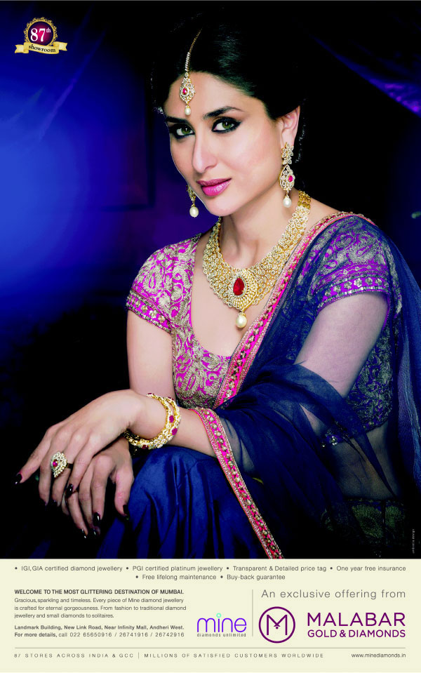 Kareena Kapoor Khan New Photo: Malabar Gold and Diamonds
