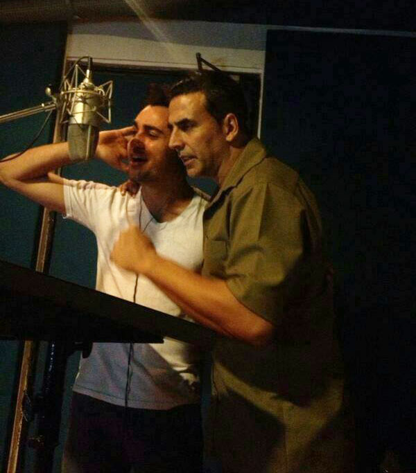Akshay Kumar, Imran Khan dubbing for Once Upon A Time In Mumbaai Again