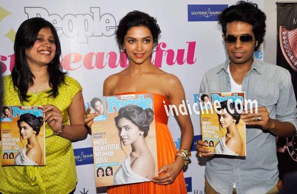 Deepika Padukone at People magazine brunch
