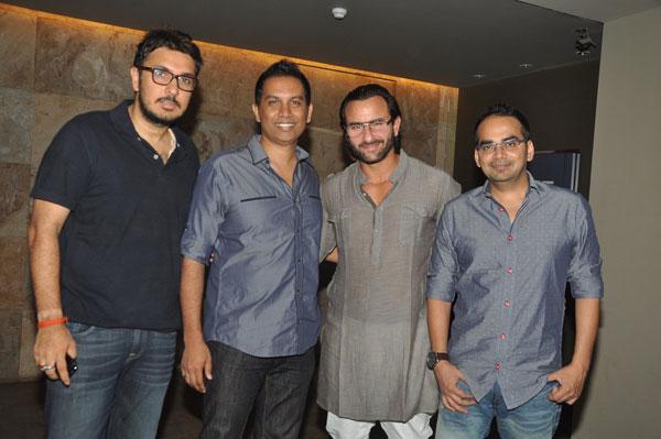 Dinesh Vijan, Raj Nidimoru, Saif Ali Khan and Krishna DK