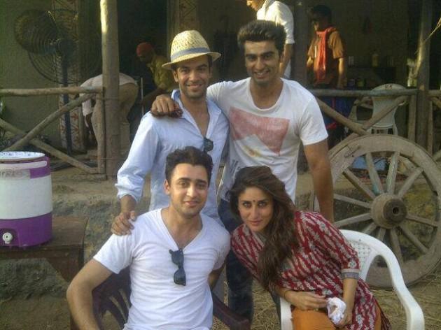 Imran Khan, Punit Malhotra, Arjun Kapoor, Kareena Kapoor - Gori Tere Pyaa