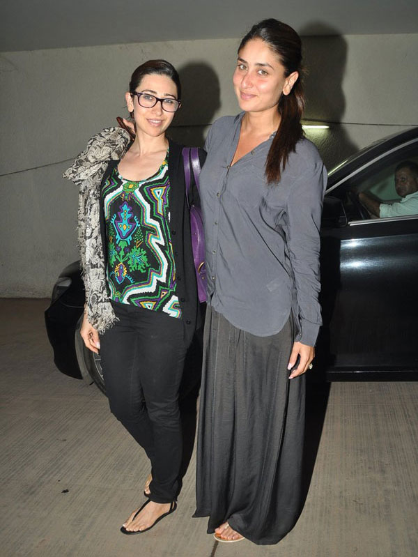 Karishma Kapoor with sister  Kareena Kapoor