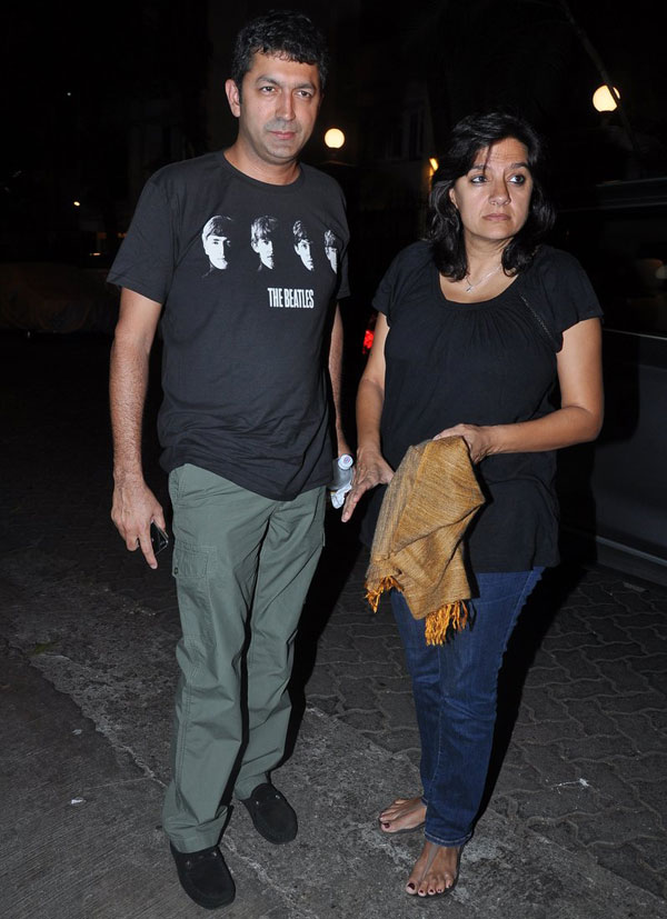 Kunal Kohli with wife Reena Kohli