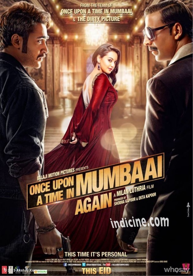 Once Upon A Time In Mumbai Again Poster