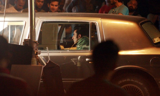 Ranbir Kapoor shoots for Besharam