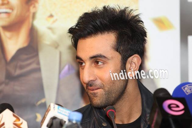 Ranbir Kapoor talks to the media