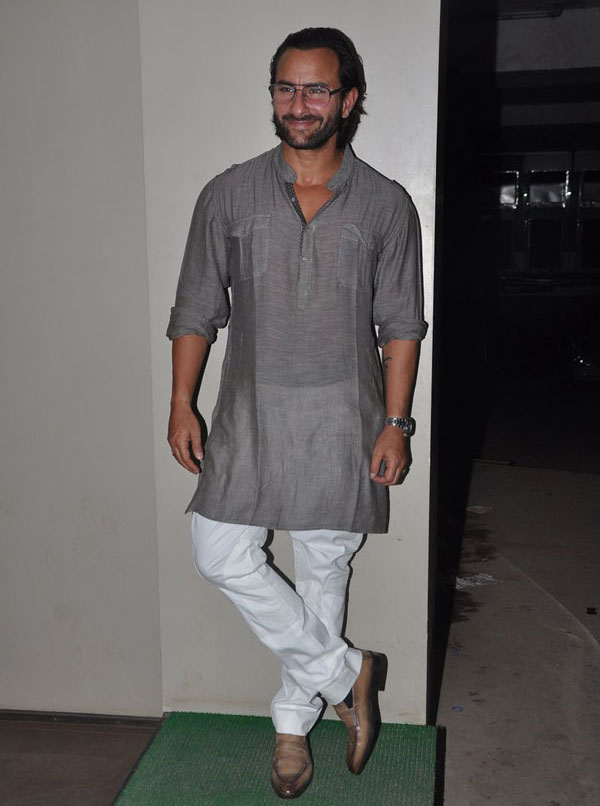 Saif Ali Khan at the screening of Go Goa Gone