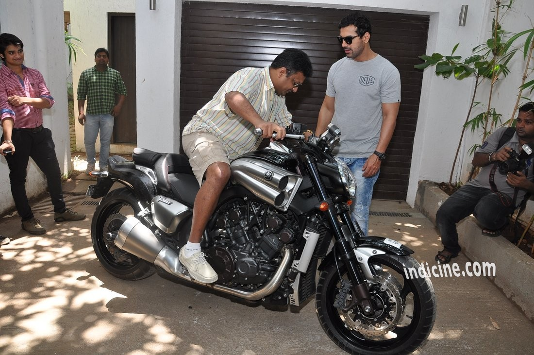 Sanjay Gupta with his new bike
