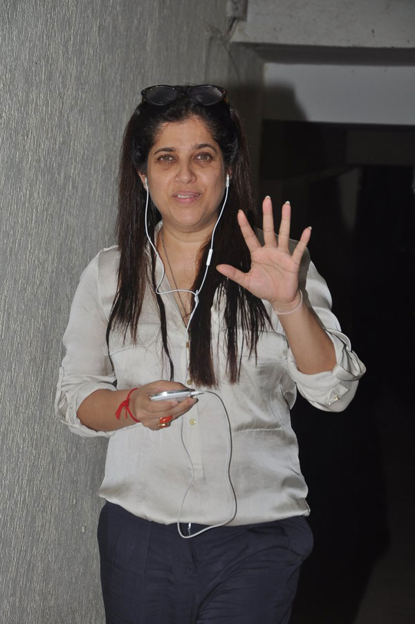 Shabina Khan at the screening of Go Goa Gone