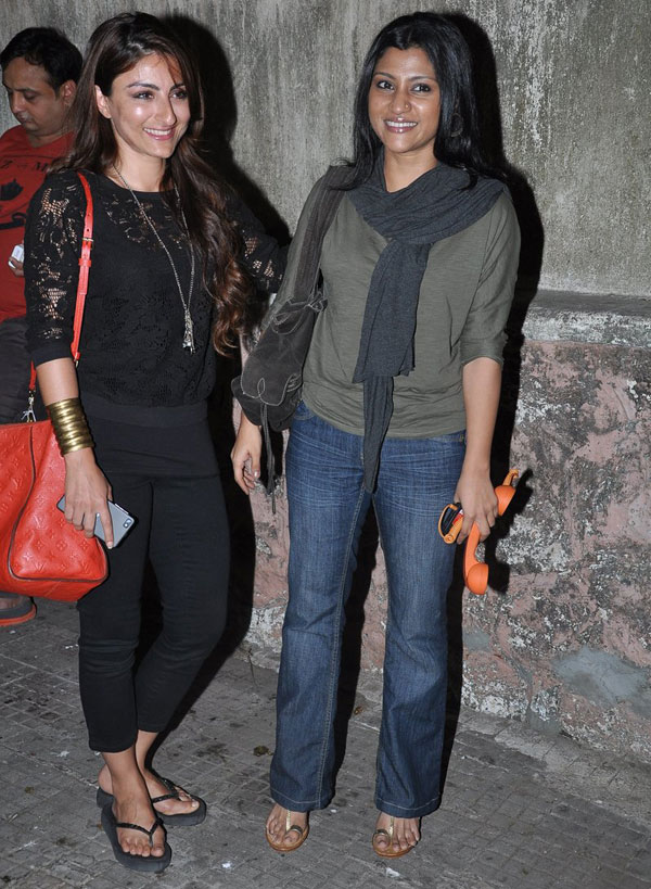 Soha Ali Khan and Konkona Sen Sharma