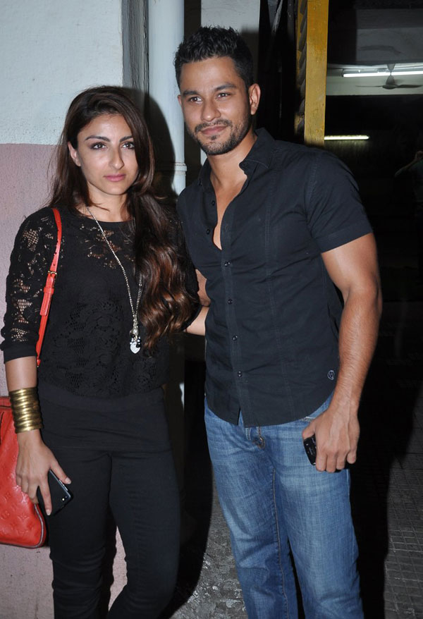 Soha Ali Khan with Kunal Khemu