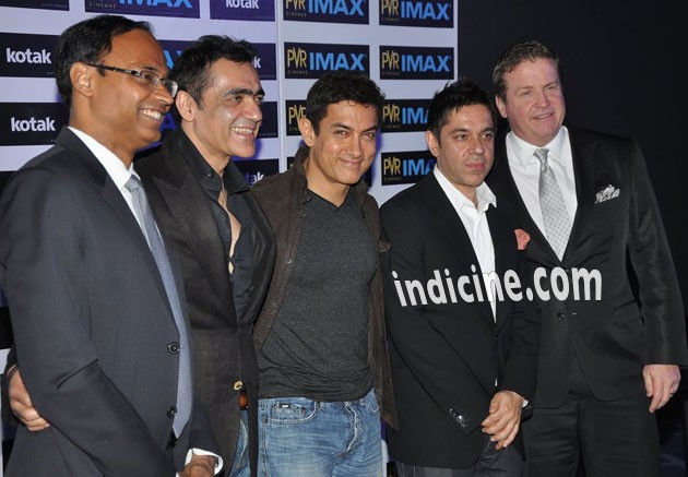 Aamir Khan at the inaugration of PVR Imax