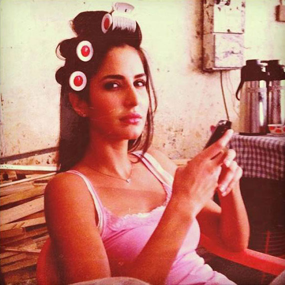 Katrina Kaif Bang Bang on location