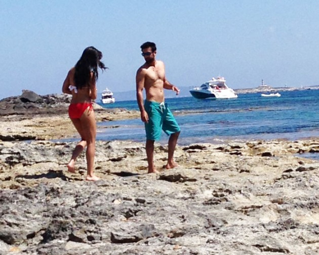 Ranbir Kapoor and Katrina Kaif holiday in Spain