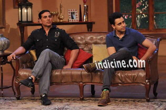 Akshay Kumar and Imran Khan
