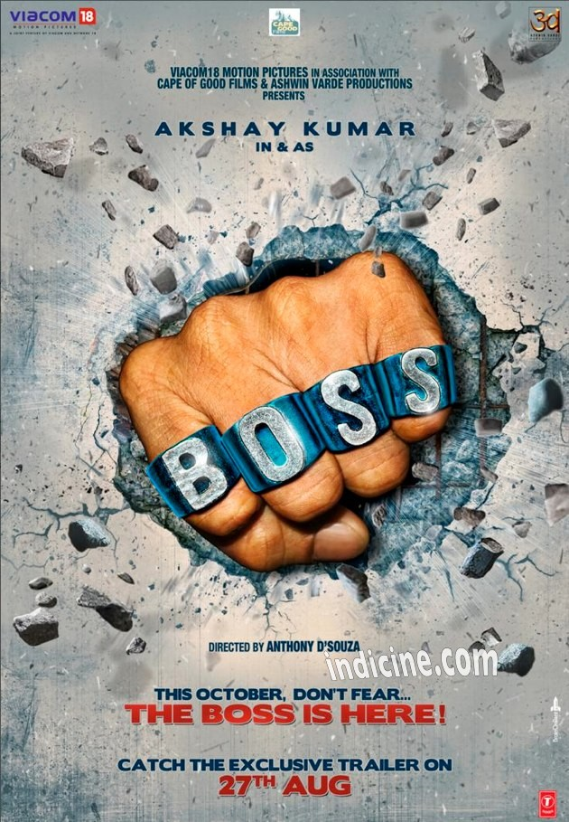 Boss First Look Poster - Akshay Kumar