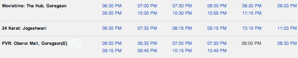 Chennai Express Advance Booking