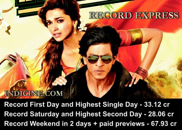 Chennai Express Records