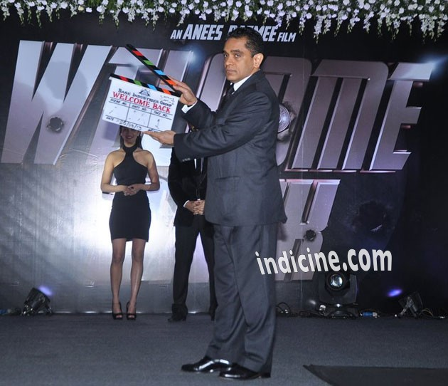 Firoz Nadiadwala at announcement of Welcome Back