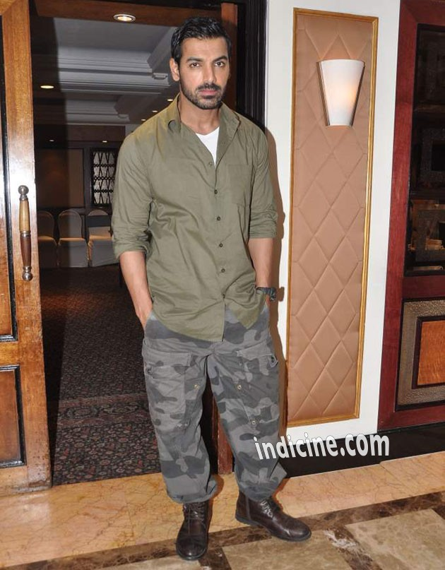 John Abraham in Madras Cafe Look