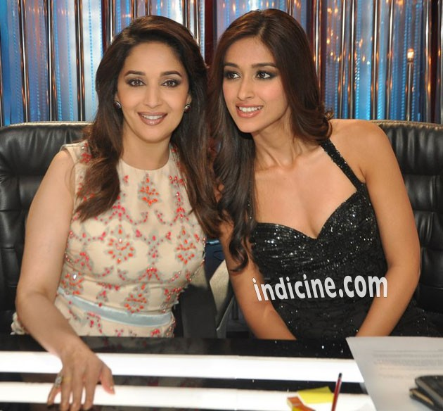 Madhuri Dixit with Ileana D'Cruz