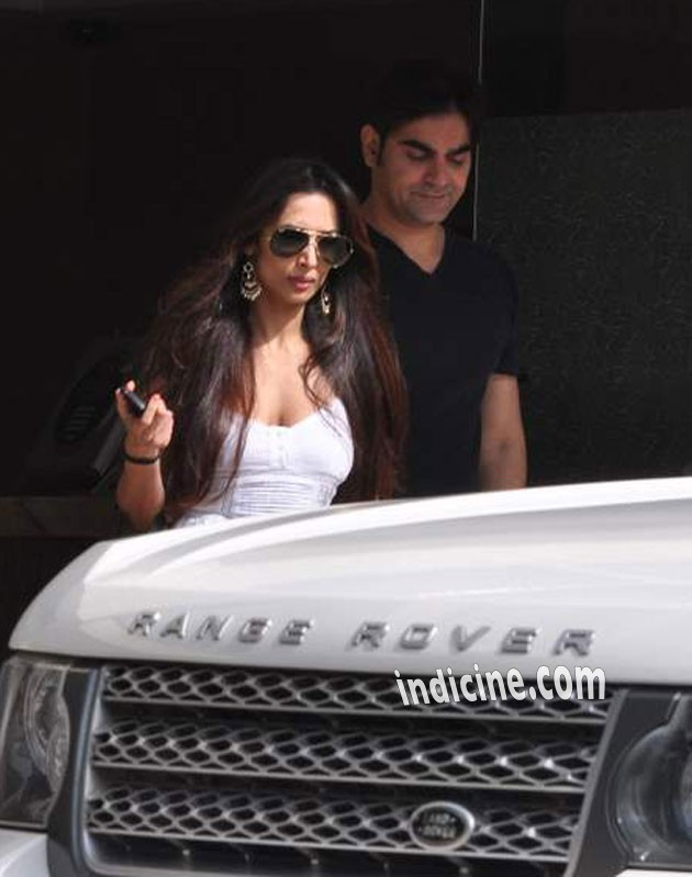 Malaika Arora Khan with husband Arbaaz Khan