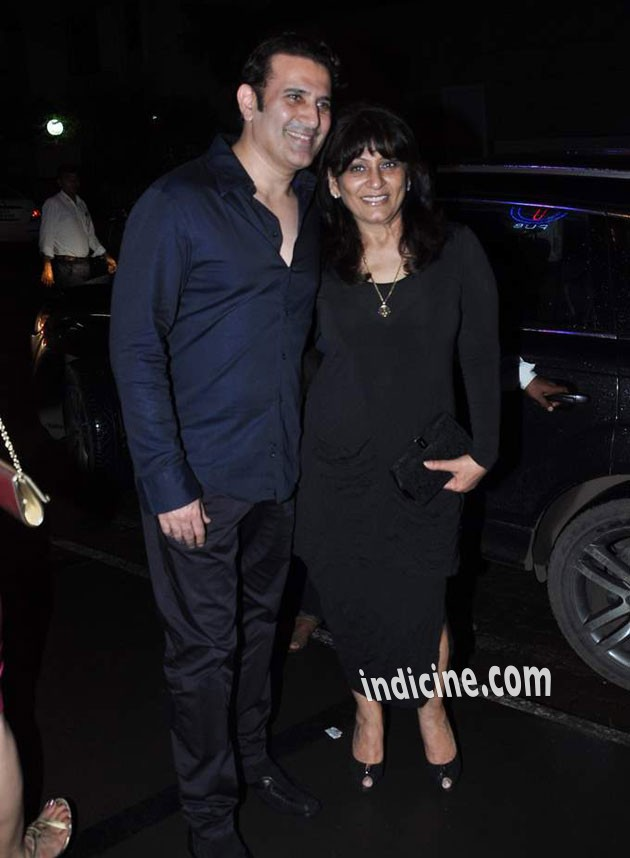 Parmeet Sethi with wife Archana Puran Singh
