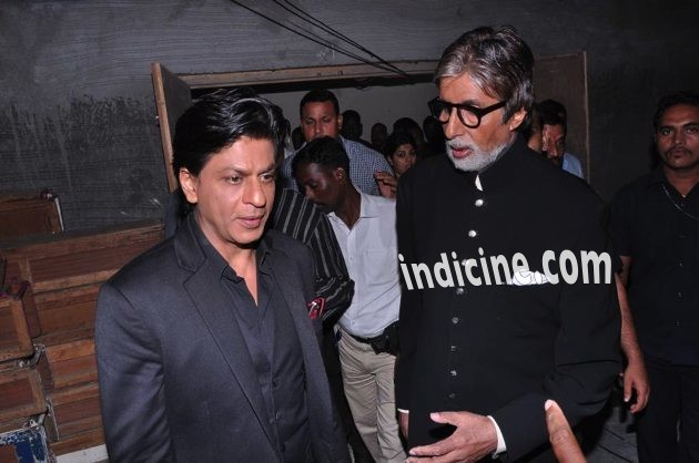 More pics of Amitabh and SRK