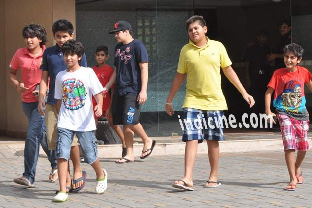 Salman Khan's brothers children