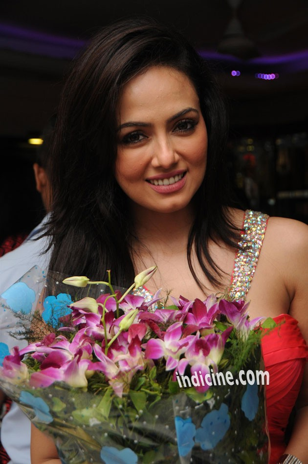 Sana Khan at her birthday party