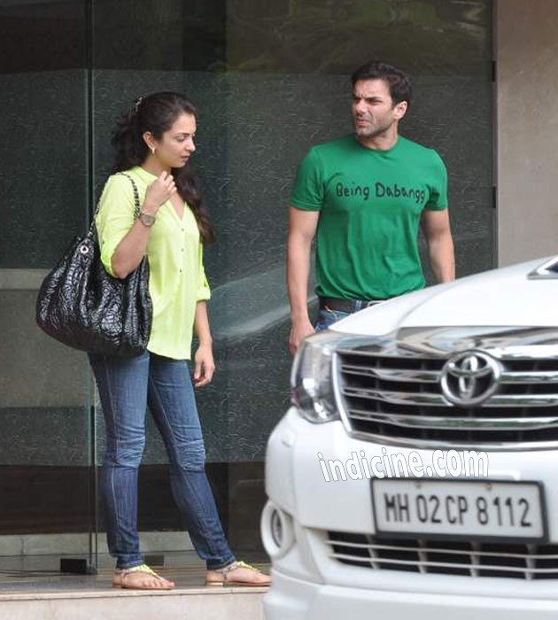 Seema Khan with husband Sohail Khan