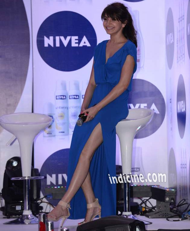Anushka Sharma unveils Nivea Flaunt Your Back