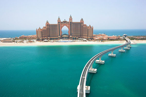 Atlantis Palm Resort Dubai where the Happy New Year shoot is presently going on