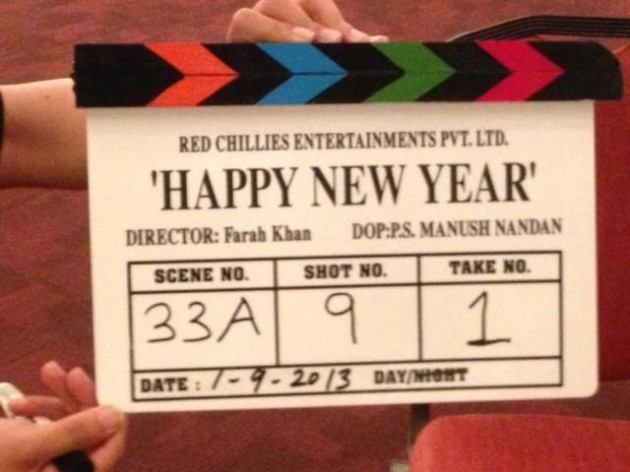 Happy New Year shooting starts