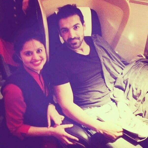 John Abraham spotted while leaving for the shooting of Welcome Back
