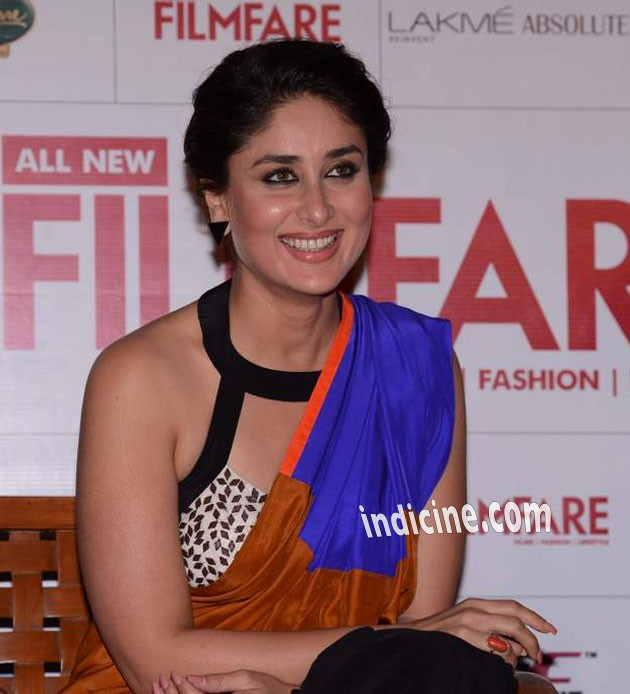 Kareena Kapoor Khan in smiling pose - Filmfare launch