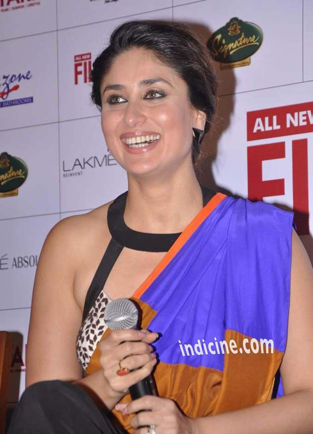Kareena Kapoor at Filmfare press meet