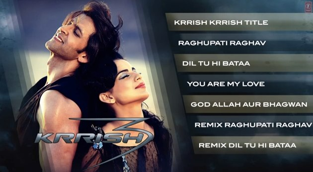 krrish 3 all video songs